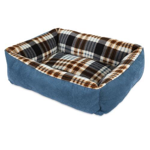 Aspen Plaid Lounger Bed
