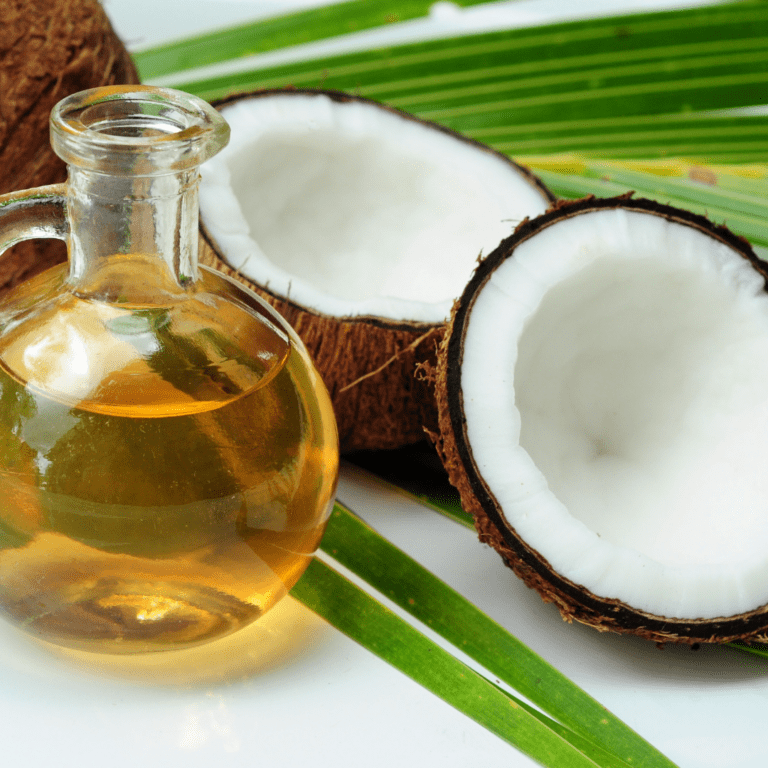 Coconut Oil -foods for burning belly fat