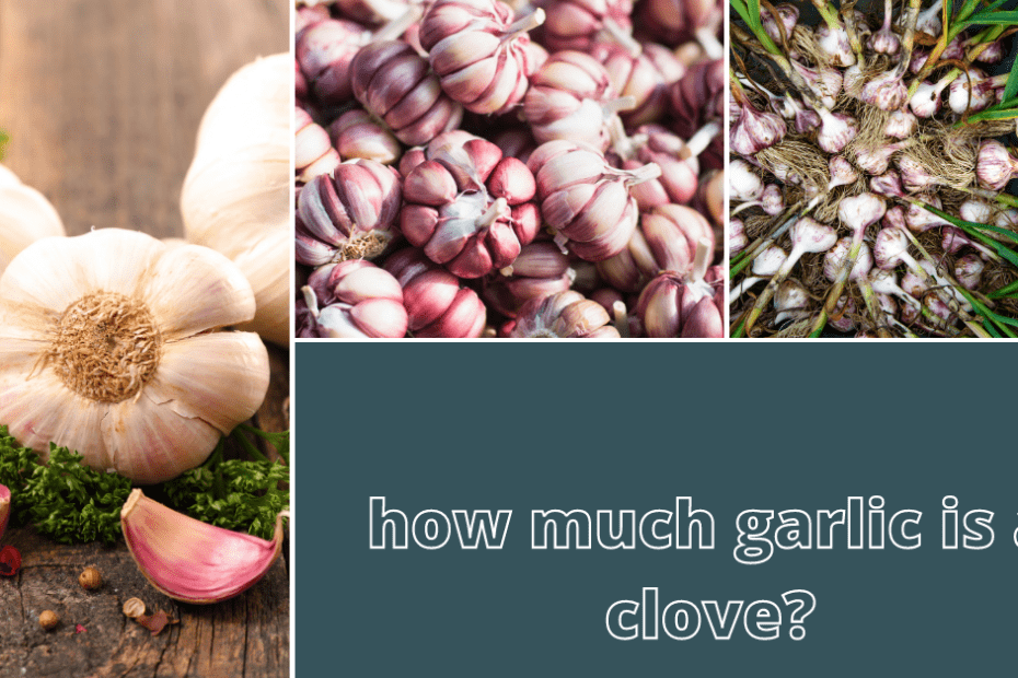 how much garlic is a clove