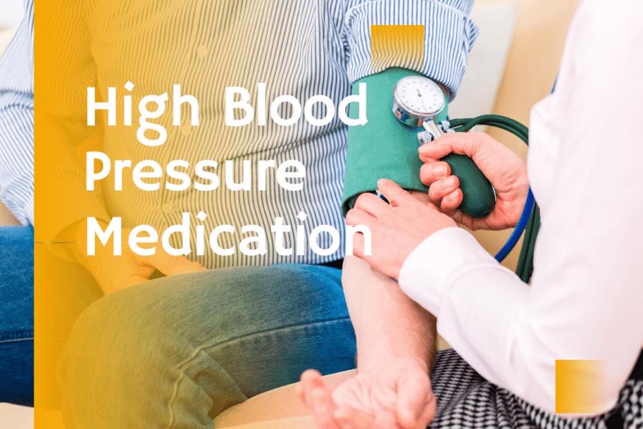 High blood pressure medication