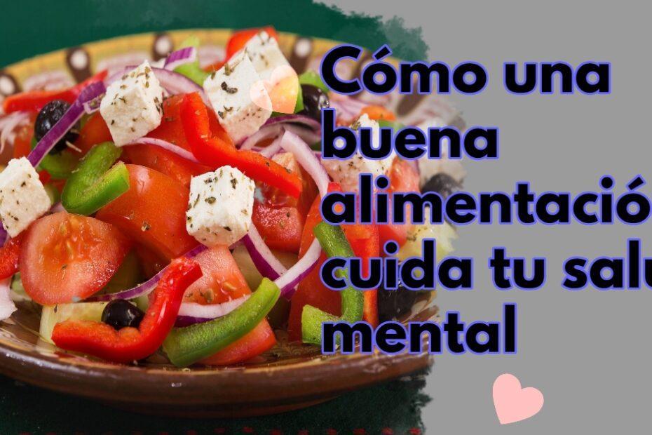 Dieta Mediterránea Salud Mental