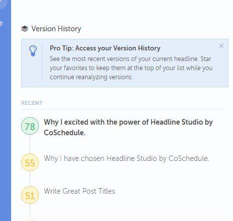 CoSchedule - History