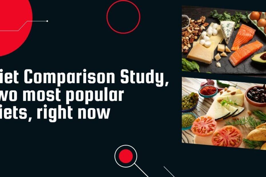Diet Comparison Study, low carb diet