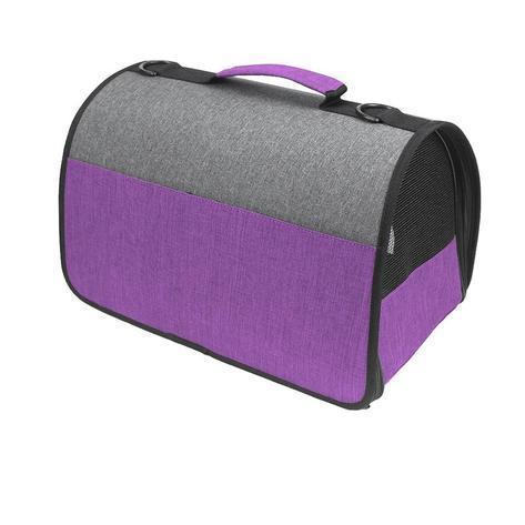 dog carrier purple